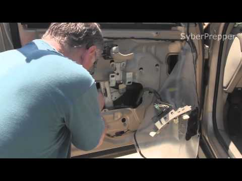 HOW TO REPAIR REPLACE CAR WINDOW MOTOR