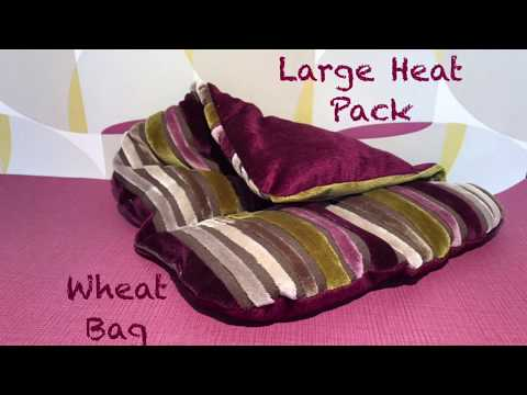 Sewing a Large heat pack wheat bag