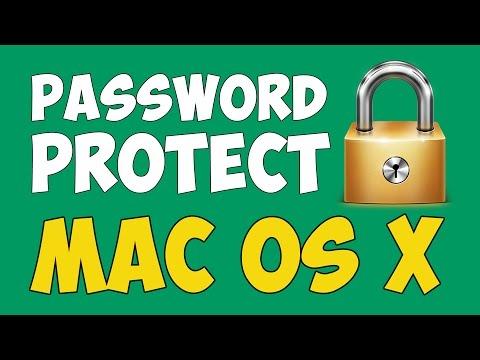 How to Set Login or Admin Password in Mac OS X   Full Tutorial