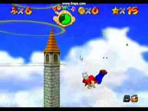 mario 64-i believe i can fly