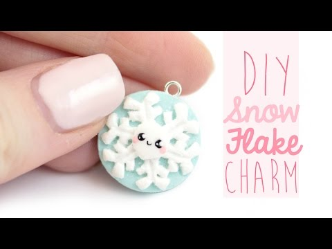Snowflake Charm DIY | Kawaii Friday