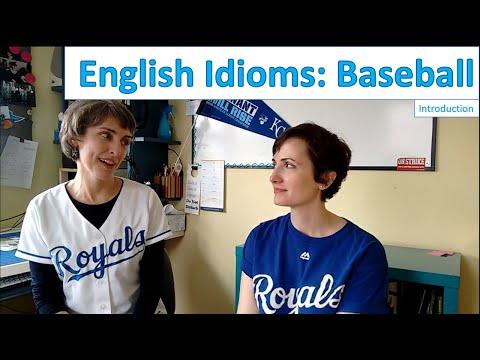 English Idioms - Baseball Ep. 1 Introduction