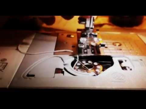 How to install elastic thread on brother sewing machine