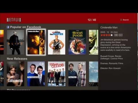 Netflix on UK PS3 - A walk through Guide