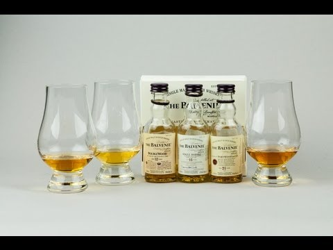 Whisky Video 24: Balvenie Doublewood, Single Barrel, and Port Wood
