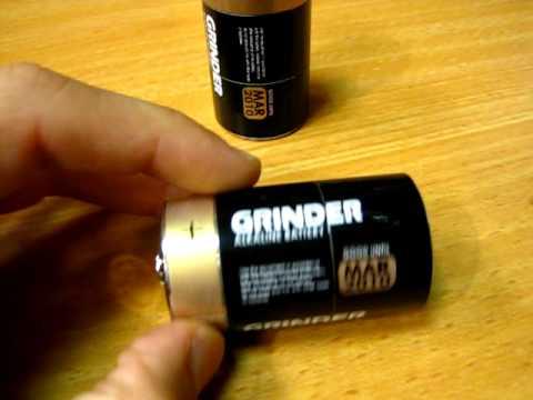 Battery Metal Grinder