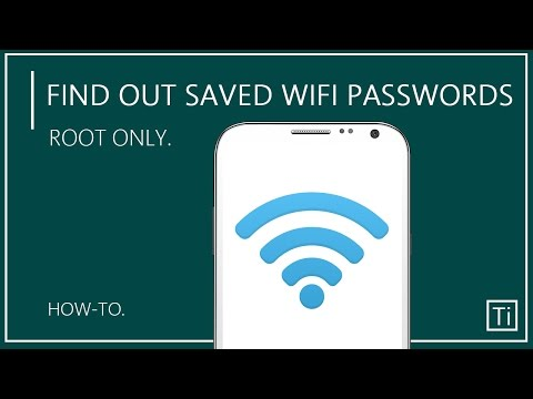 How To Find Saved Wifi Passwords In Android Device | Root