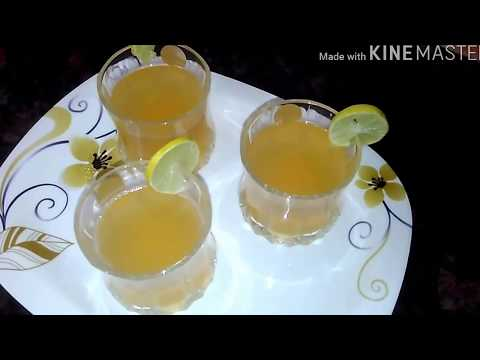 Ultimate delicious lemon ginger tea ( in hindi)/अत्यंत स्वादिष्ट नीबू अदरक  चाय