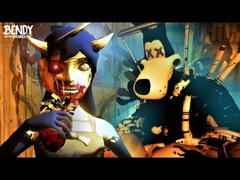 What did Alice do to Boris in BATIM Chapter 4? (Bendy & the
