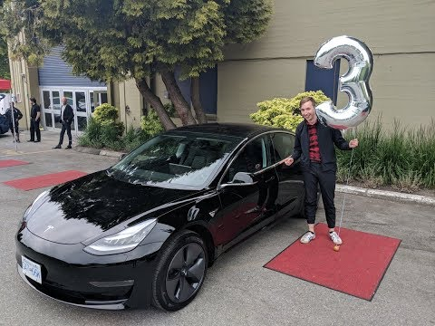 Vancouver Model 3 Delivery