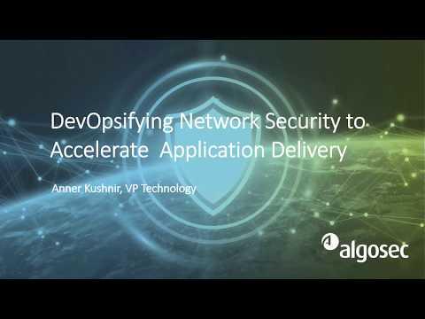 DevOpsifying Network Security - Demo