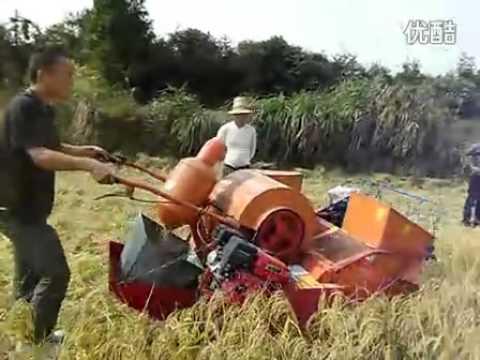 Mini Rice/Wheat Combine Harvester,gasoline/diesel power,mini farmer harvester