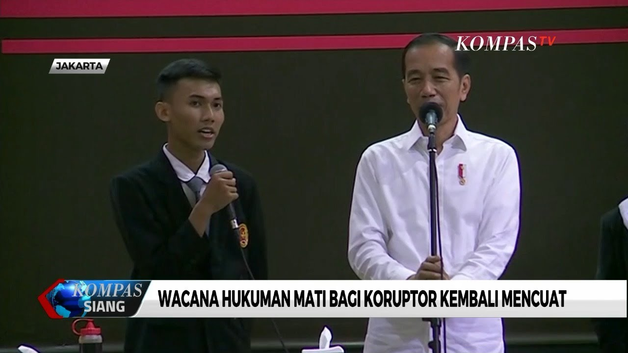 Ditanya Siswa Soal Hukuman Mati Koruptor, Begini Kata Jokowi