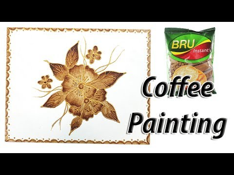 PAINTING with COFFEE  | JK Arts 1411