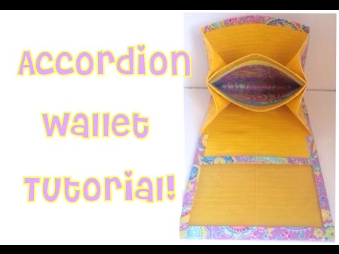 How to Make a Duct Tape Accordion Wallet