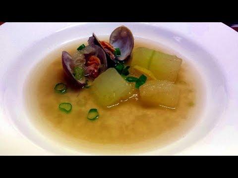 Clam and Winter Melon Soup Recipe