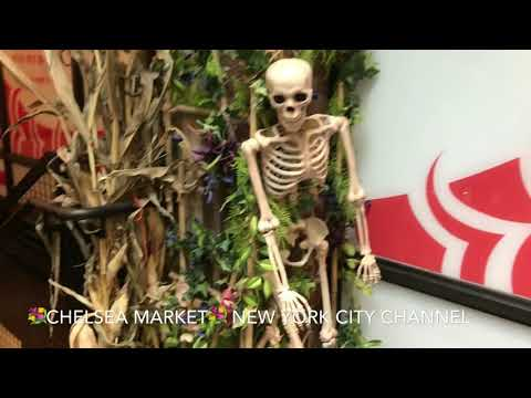Chelsea Market & High Line at New York City. Oct 25, 2017