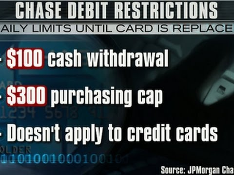 Chase restricts Target shoppers' debit cards
