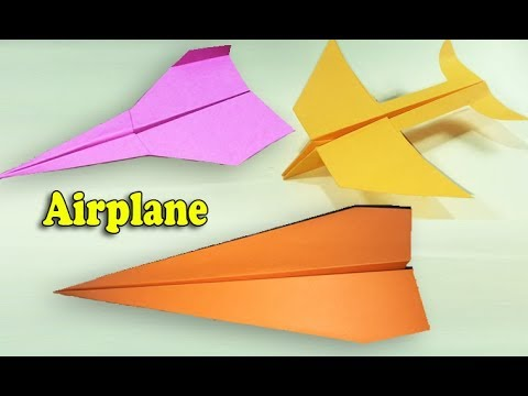 4 Ways to Make Paper Airplane That Fly Far, DIY at Home