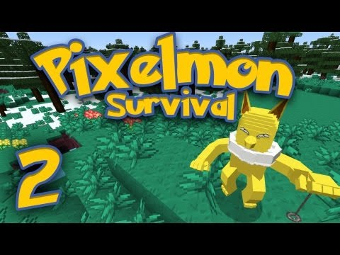 Pixelmon Survival [Part 2] - The Hypno Stalker