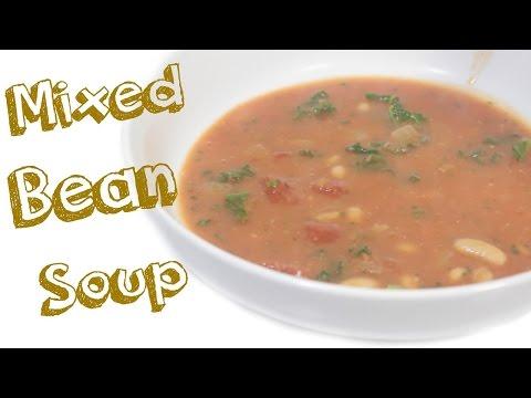 Mixed Bean Soup   Yummy Vegan