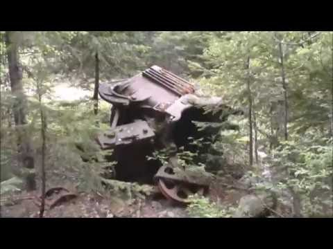 Wellington Camp Part 1 Visit  abandoned  underground mine and ghost town near Grand Forks BC