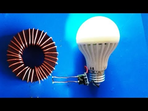 How To Make a Free Energy Device Using Magnet - Using Copper Wire Light For Lifetime! 76