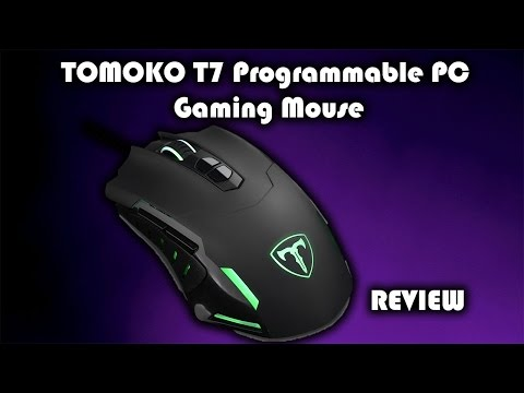 TOMOKO T7 Programmable PC Gaming Mouse Review