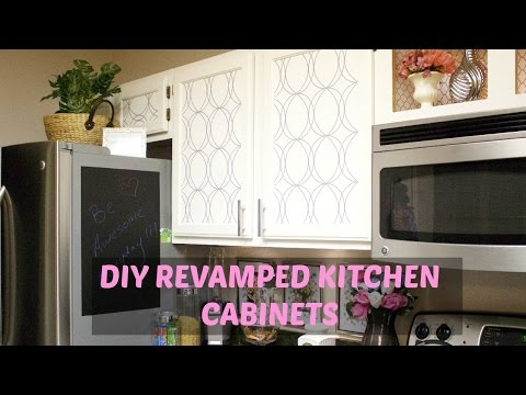 ♥ Glam Home ♥ DIY Kitchen Cabinets