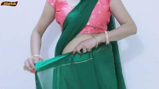 How To Wear Twisted Pallu Saree | Mix & Match Sari Drape Weird Tricks and Tips | Jiilahub Hacks
