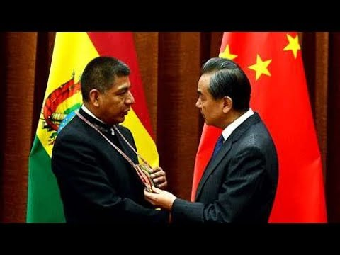 Bolivian FM meets with Chinese FM to discuss Evo Morales state visit next month