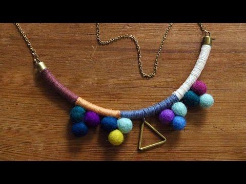 DIY $5 Statement Necklace | DIY Jewelry | DIY Tutorial