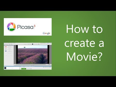 Google Picasa 3 Tutorial - How to make a Movie