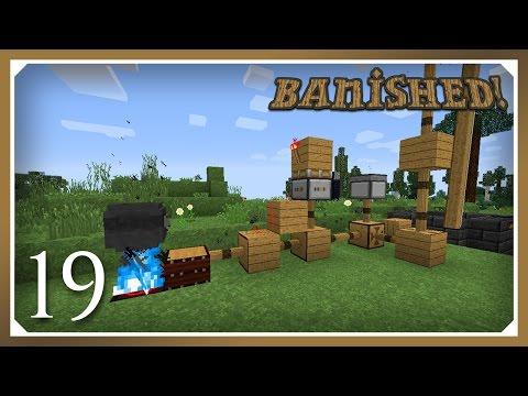 Minecraft Banished Modpack | Hibachi, Bellows & Stoked Cauldron | E19 (Harsh Survival Minecraft)