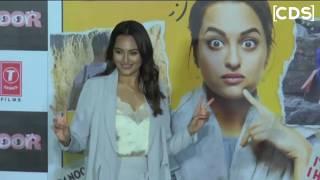 Sonakshi Sinha Hot In Shorts At Noor Trailer Launch!