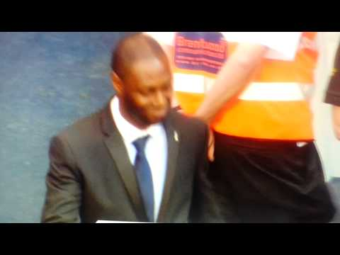 Tottenham Hotspur 2 - 1 Newcastle United - Ledley King Legend Goodbye to Spurs In An Earlier Game