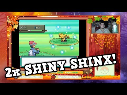 2 AMAZING Shiny Shinx in Pokémon Platinum [Pokéradar Chain]