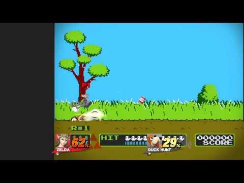 Super Smash Bros Wii U -- Unlocking Duck Hunt