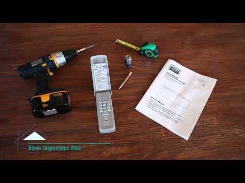 DIY Tip #28 Installing a Remote Keypad Garage Door