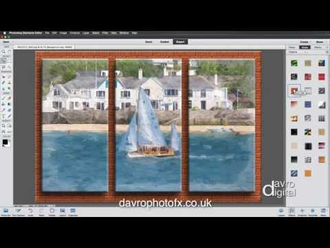Creating a Triptych in Photoshop Elements