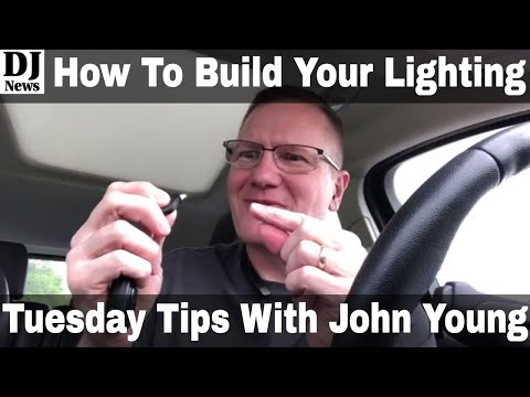 How To Put Together Your First DJ Light Show | Tuesday Tips with John Young Episode 62