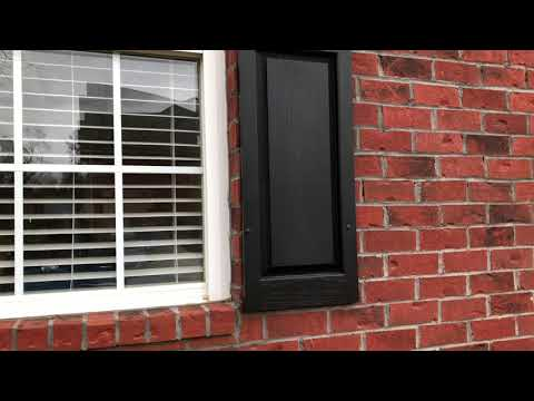 I Reattached Vinyl Shutters To Brick House Using Liquid Silicone