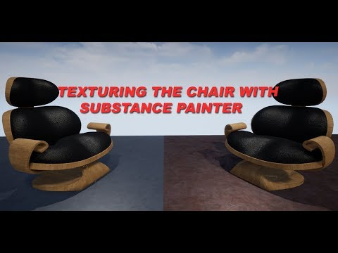 Texturing the Custom Chair with Substance Painter