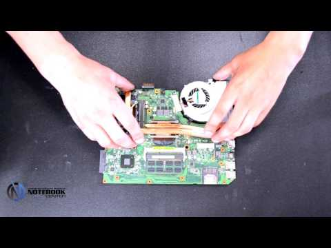 ASUS K55 - Disassembly and cleaning