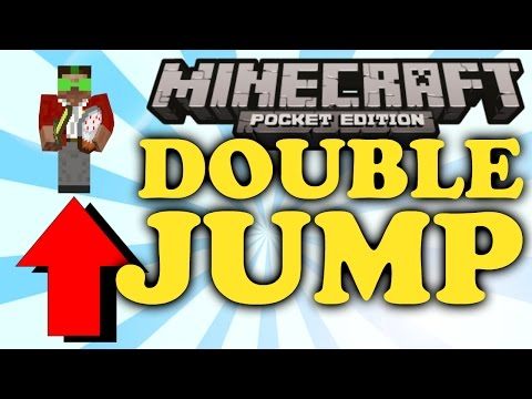 ✔ Minecraft PE: How to Double-Jump