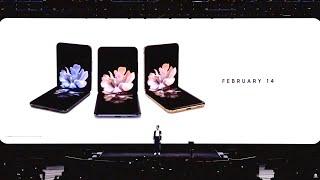 Samsung's full Galaxy Unpacked 2020 Livestream (Z Flip, S20 phones announced)