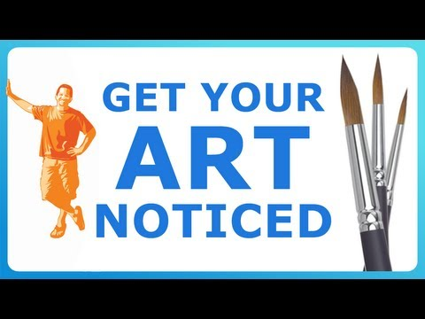 HOW TO GET YOUR ART NOTICED! my 2-step plan for getting discovered as an artist!