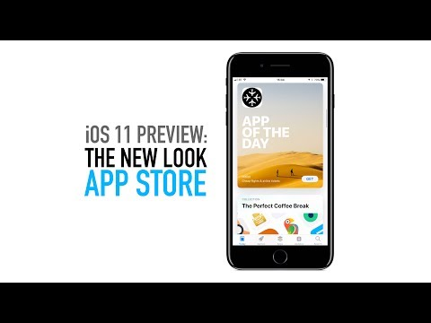 iOS 11 App Store Preview on Apple iPhone