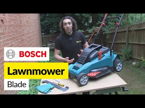 How to Replace a Lawnmower Blade - Bosch