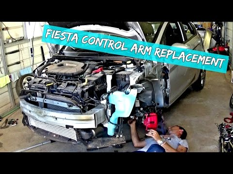 Ford Fiesta Control Arm Replacement and Removal 2009 2010 2011 2012 2013 2014 2015 2016